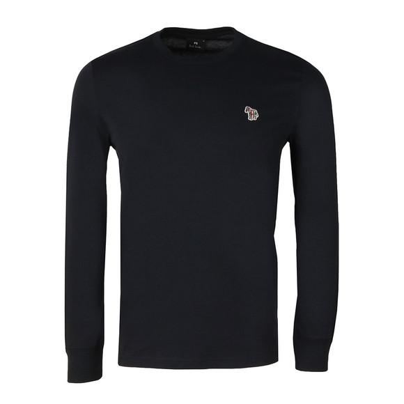PS Paul Smith Mens Blue L/S Zebra T-Shirt