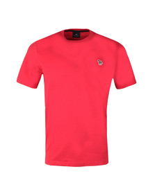 PS Paul Smith Mens Red Zebra SS Tee