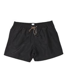 PS Paul Smith Mens Black Classic Plain Swim Shorts