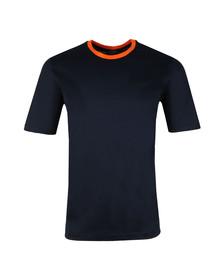 Paul & Shark Mens Blue Plain Ringer T Shirt