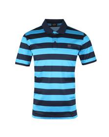 Paul & Shark Mens Blue Block Stripe Polo Shirt