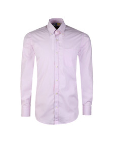 Paul & Shark Mens Pink Fine Stripe Shirt
