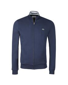 Lacoste Mens Blue SH3292 Full zip Sweat