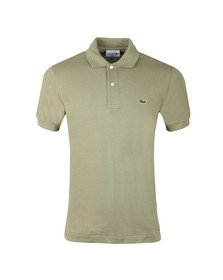 Lacoste Mens Green L1212 Plain Polo Shirt