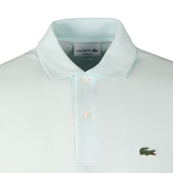 Lacoste Mens Blue L1212 Plain Polo Shirt main image
