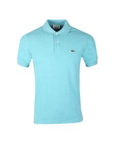 Lacoste Mens Turquoise L1264 Plain Polo
