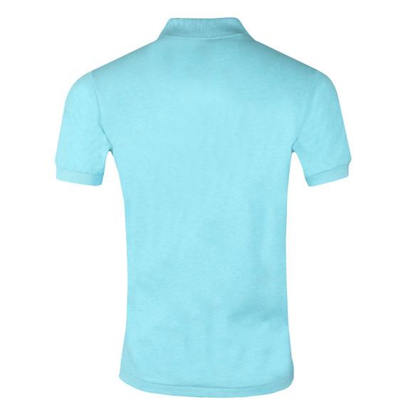 Lacoste Mens Turquoise L1264 Plain Polo main image