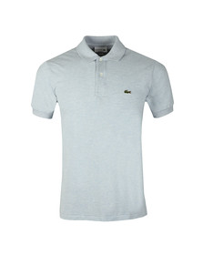 Lacoste Mens Blue Lacoste L1264 Plain Polo