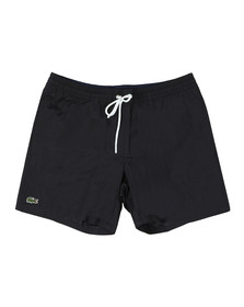 Lacoste Mens Black MH7092 Swim Short