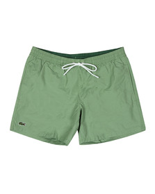 Lacoste Mens Green MH7092 Swim Short