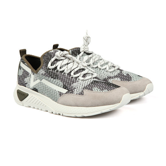 Diesel Mens Grey KBY Runner main image