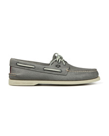 Sperry Mens Grey Authentic Original Boat Shoe