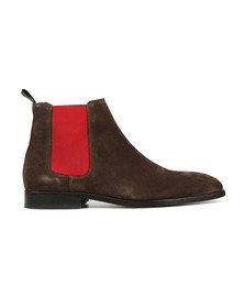 PS Paul Smith Mens Brown Gerald Chelsea Suede Boot
