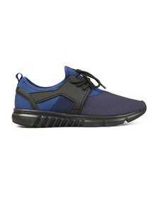 Luke Mens Blue Slickers Moulded Trainer