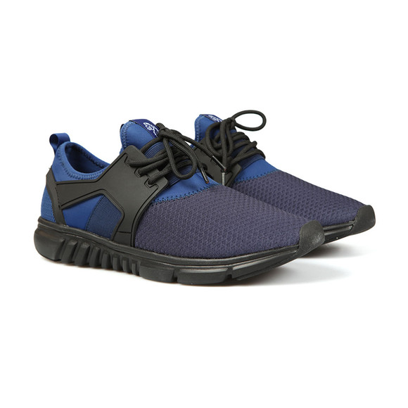 Luke Mens Blue Slickers Moulded Trainer main image