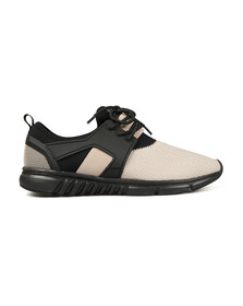 Luke Mens Grey Slickers Moulded Trainer