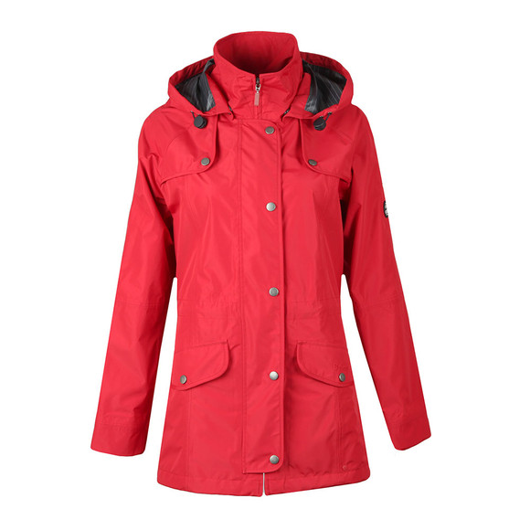 Barbour Lifestyle Womens Red Trevose Jacket main image