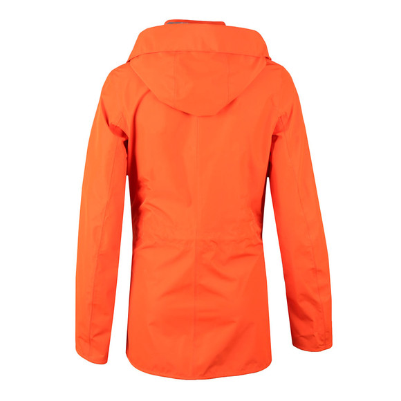 Barbour Lifestyle Womens Orange Barometer Jacket main image