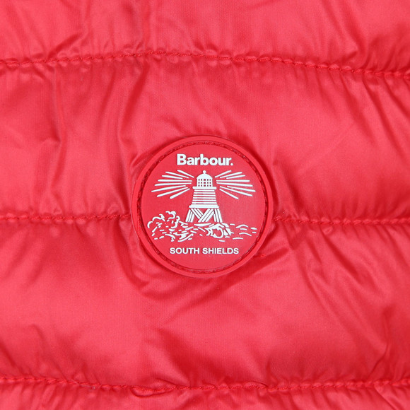 Barbour Lifestyle Womens Red Daisyhill Quilted Jacket main image