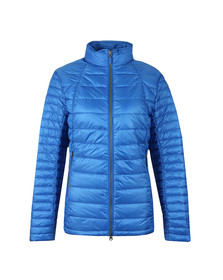 Barbour Lifestyle Womens Blue Daisyhill Quilted Jacket