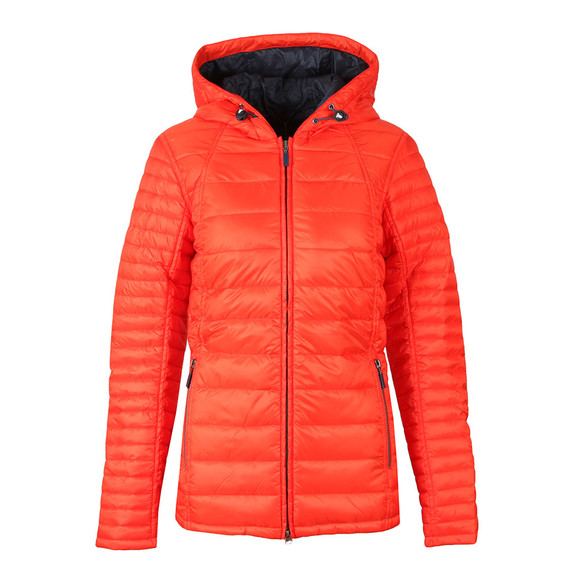 Barbour Lifestyle Womens Orange Heavenfield Quilted Jacket main image