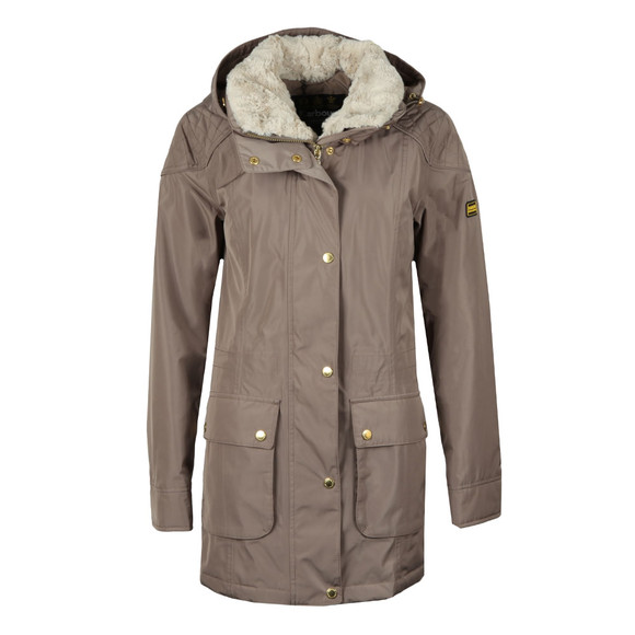 Barbour International Womens Beige Garrison Jacket main image