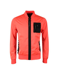 Luke Mens Pink Springer Jacket