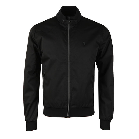Luke Mens Black Fluff Nut 3 Jacket main image