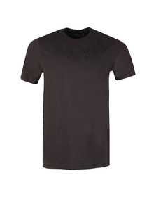 Luke Mens Grey S/S Crack The Foil Tee
