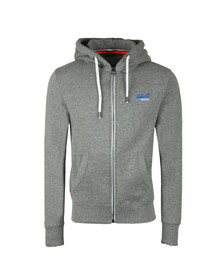 Superdry Mens Grey Orange Label Cali Ziphood