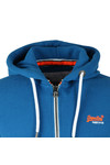 Superdry Mens Blue Orange Label Ziphood
