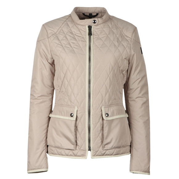 Belstaff Womens Beige Randall Quilted Jacket main image