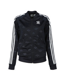 Adidas Originals Womens Blue Superstar Track Top