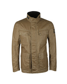 Belstaff Mens Green Explorer Wax Jacket