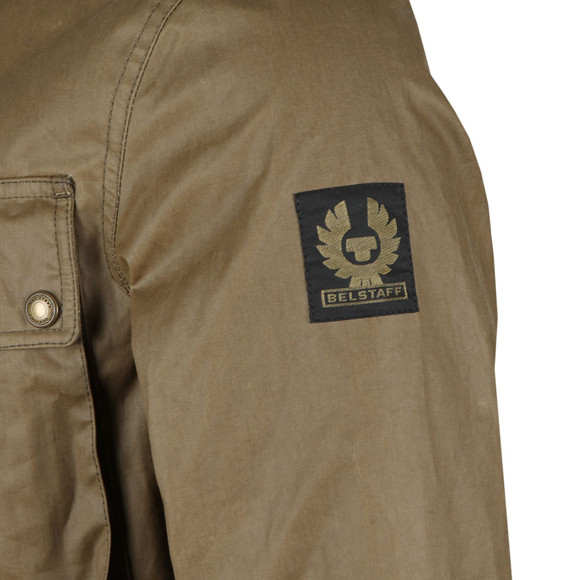 Belstaff Mens Green Explorer Wax Jacket