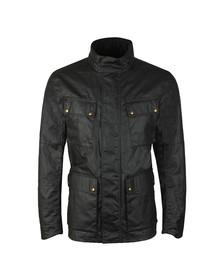 Belstaff Mens Black Explorer Wax Jacket