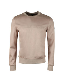 Belstaff Mens Beige Belsford Embossed Sweatshirt