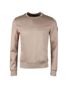 Belstaff Mens Beige Belsford Embossed Sweatshirt