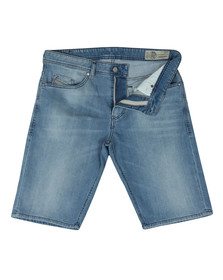 Diesel Mens Blue Thoshort Denim Short