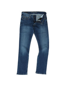 Calvin Klein Jeans Mens Blue Slim Straight Jean