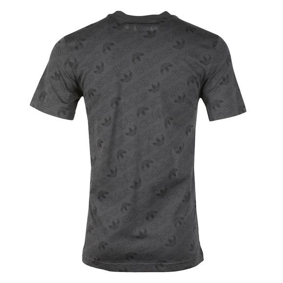 Adidas Originals Mens Grey S/S Aop Tee main image