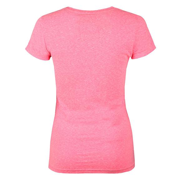 Superdry Womens Pink Vintage Logo Embossed Foil Tee main image