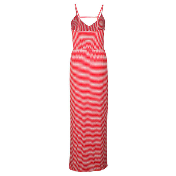 Superdry Womens Red Stripe Wrap Dress main image