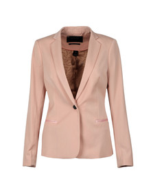 Maison Scotch Womens Pink Tailored Blazer