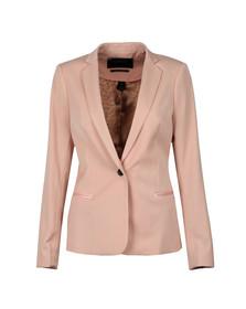 Maison Scotch Womens Pink Tailored Blazer