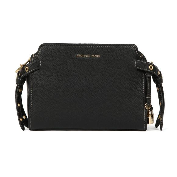 Michael Kors Womens Black Bristol Mid Messenger Bag main image