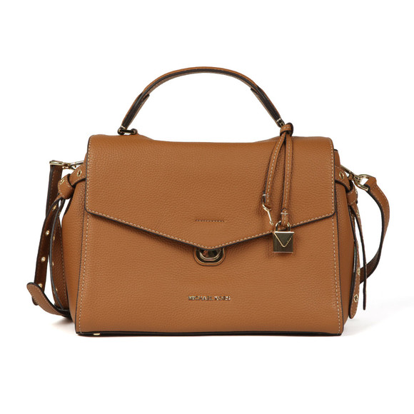 Michael Kors Womens Brown Bristol Mid Satchel main image