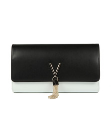 Valentino by Mario Womens Black Divina BI Tote Bag