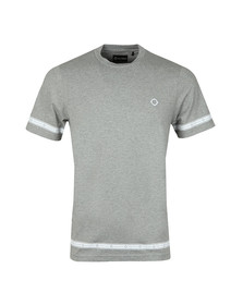 Ma.Strum Mens Grey Icon Breton T Shirt