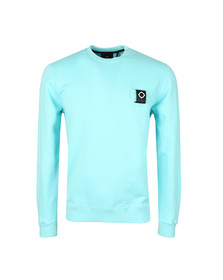 Ma.Strum Mens Blue Training Crew Sweat